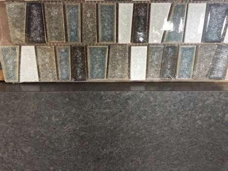 Counter top and Back splash tile