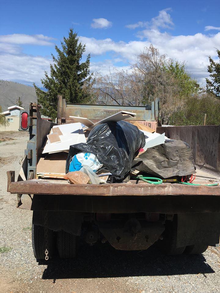 dumpster full