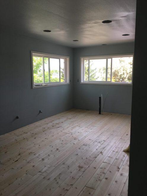 kitchen floor in
