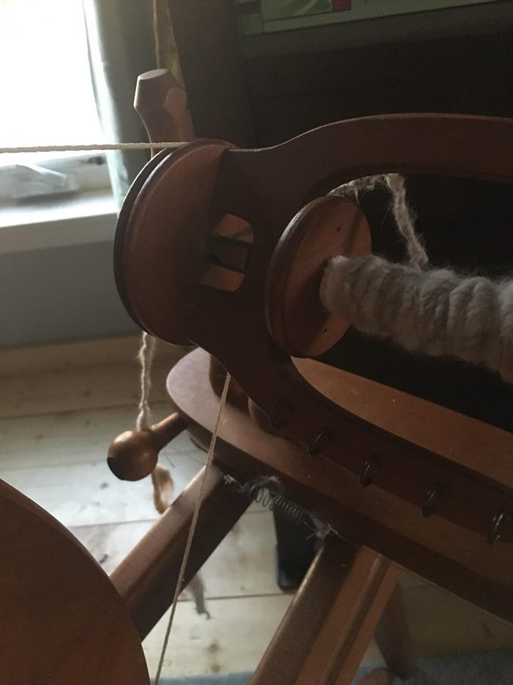 Yarn spun