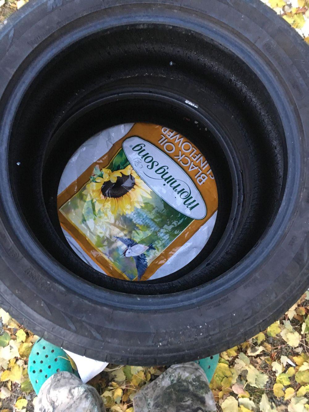 tire trough
